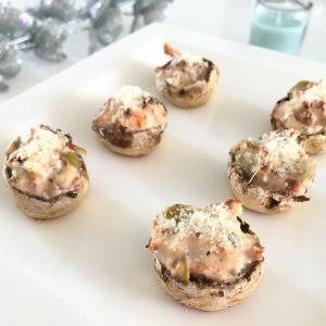 Voor de feestdagen: gevulde champignons (maar dan modern!)