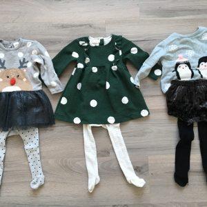 De kerstoutfits van Mae (meervoud ja, want het zijn er 3!)