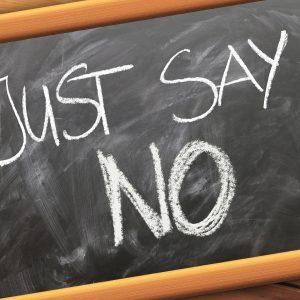 Nee, nee en nog eens nee! – 6 gemakkelijke manieren om nee te zeggen