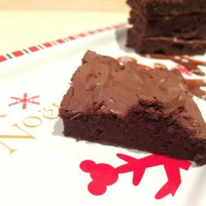 3 ingrediënten brownie