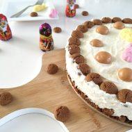 Zie ginds komt de… no bake kruidnootjes cheesecake!
