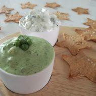 Voor de feestdagen: krokante sterren met 2 x groentedip