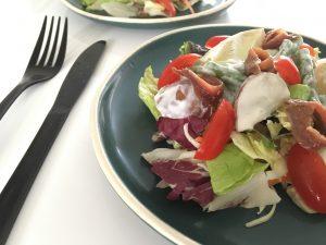 Simpele salade niçoise