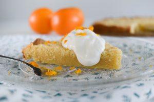 Boterkoek met sinaasappel