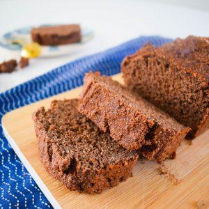 Gezonde chocoladecake