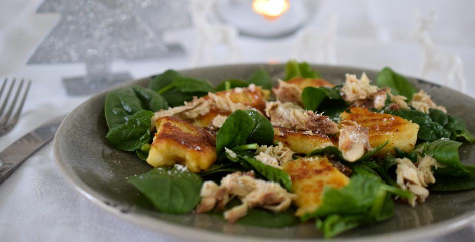 Gnocchi met salieboter en makreel