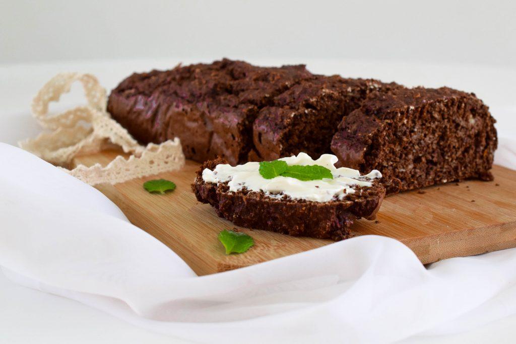 bananenbrood met munt en chocolade