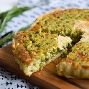 vegetarische quiche