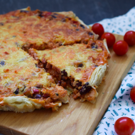 Chili con carne quiche
