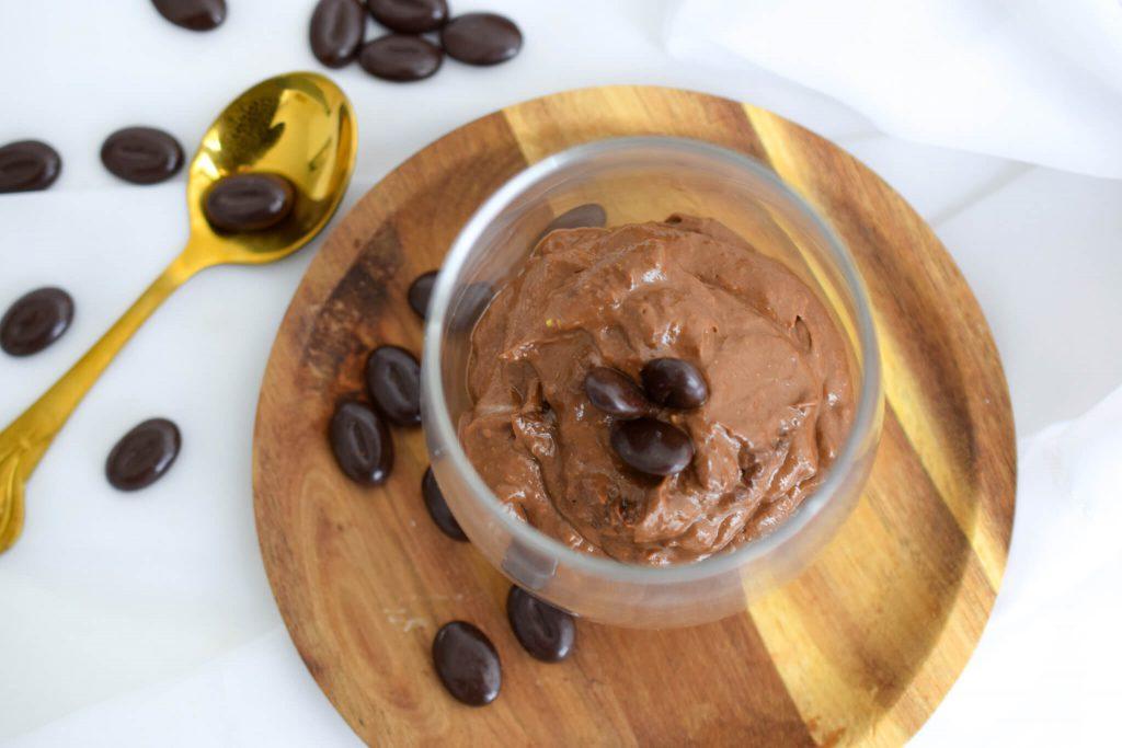 koffie-chocolademousse