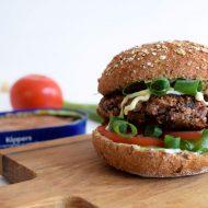 Gezonde haring-bietenburgers
