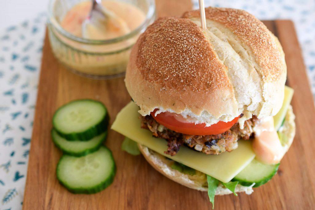 oosterse tonijnburger