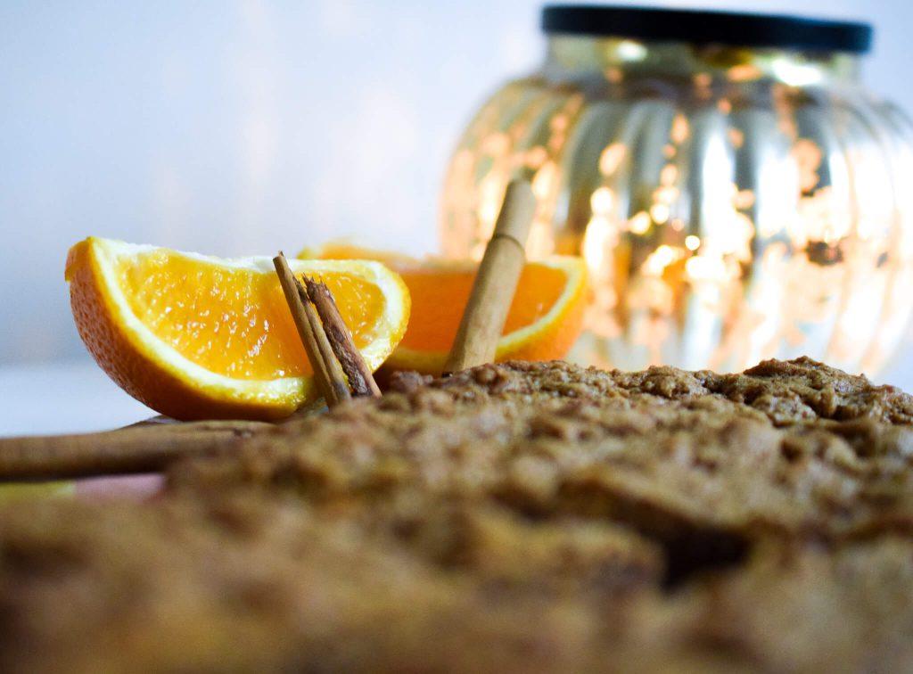 boterkoek met sinaasappel en kaneel