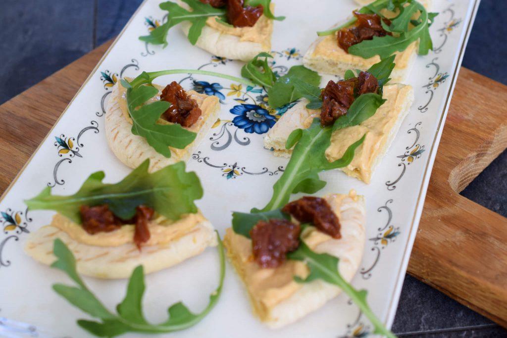 vega pita's met ras el hanout hummus